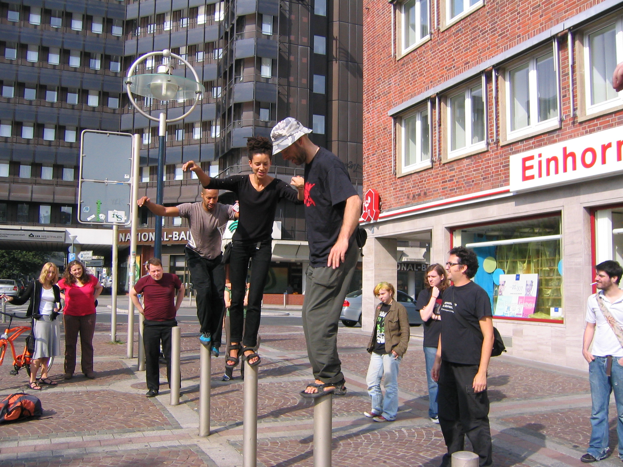 Dortmund Germany  city photos : Urban Climbing, Dortmund, Germany.