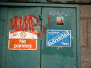 graffiti evolution subverted fear no parking bristol 01.jpg