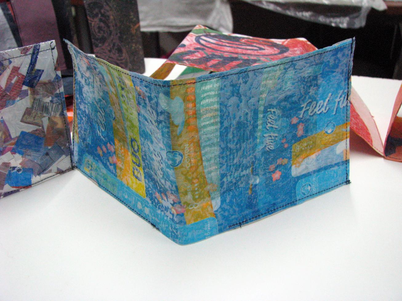 Plastic Bag Wallet