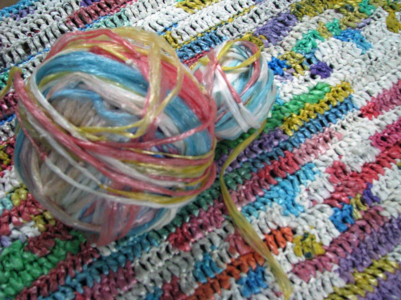 Plastic Bag Mat