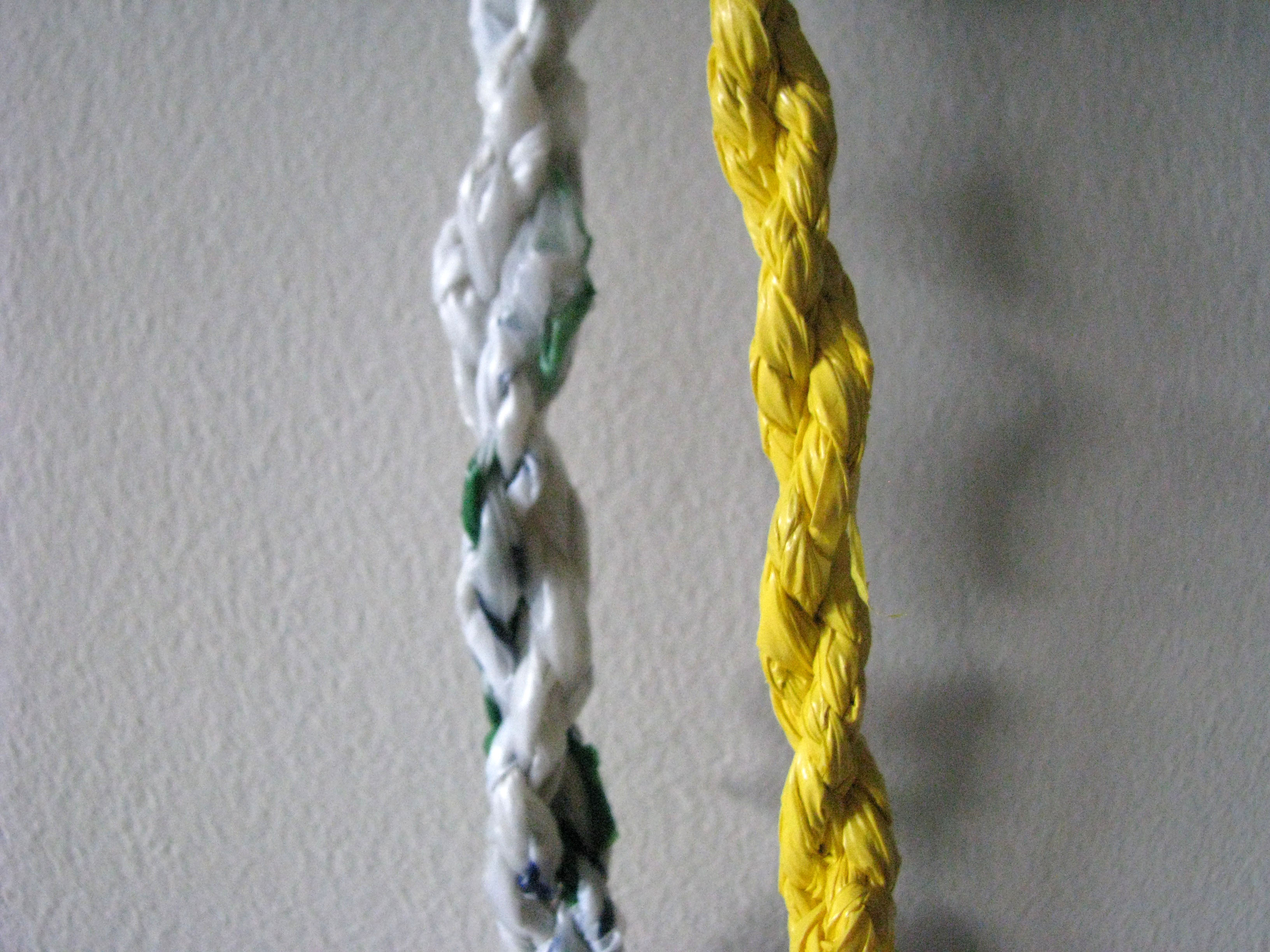 Plastic Bag Twisted Rope